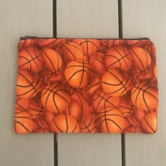 Basketballs pencil case