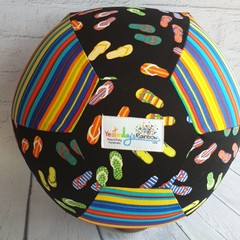 Balloon Balls: Made it for Firefighters  :Thongs & Stripe fun