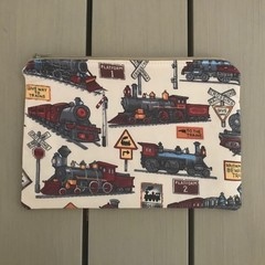 Trains pencil case