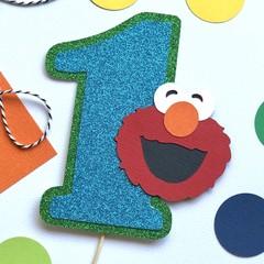Elmo Number Cake Topper