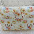 Ladies Clutch - Evening, Day, Wedding, Race Day, Garden Party -Boho Deer