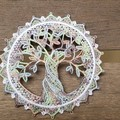 Free Standing Lace Tree of Life