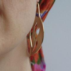 Kerii Gold Drop Earrings