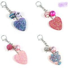 Cheer Life & Born to Dance bag bling charms