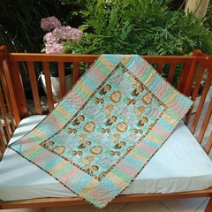 No 55 - Jungle Baby Multi Panel QUILT/PLAY MAT    112CMS X 79CMS