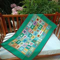 NO. 18 - ABC QUILT/PLAY MAT 126CMS X 79CMS
