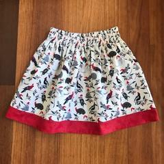 Girls Christmas Skirt