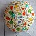 Balloon Balls: Kapow, Bold fun prints wording on Cream background