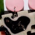 Pixel Heart dangle