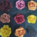 Framed Paper Flowers - 2 Colour Options