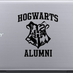 Hogwarts Alumni - Harry Potter - Vinyl Decal Sticker