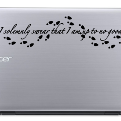 I Solemnly Swear - Harry Potter - Vinyl Decal Sticker