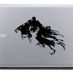 Dementor with Patronus - Harry Potter - Vinyl Decal Sticker