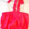 Unicorn romper/overalls onesie cotton baby girl toddler