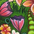 """Alice and Absolem"" Art Print by Jaz Higgins - Alice in Wonderland Caterpillar"