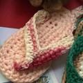 Key Ring - Crochet Thongs