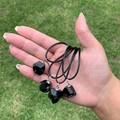 Black Tourmaline necklace - EMF Protection, Empath grounding - Crystal gift idea