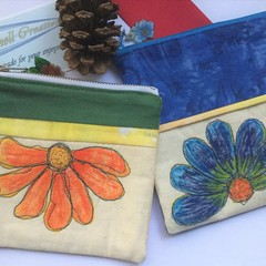 Zippered Make up Pouch