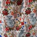 Cute Koala Fabric TOTE  Eco Friendly Handmade Market, Library, Shopping, Gifting