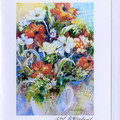 ART CARDS - 5 Signed plus 1 Bonus Card by Val Fitzpatrick