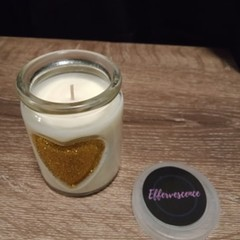 Heart Candle 200g - Customise
