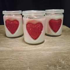 Strawberry Kisses Candle 200g