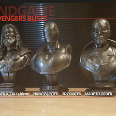 Avengers End Game Collectors Figures Set 3D Printed / Gift for him