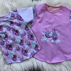 Fairies Tee Size 2 and 5