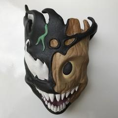 3D Venom Groot fridge magnet in resin / Marvel Venom Groot Refrigerator Magnet