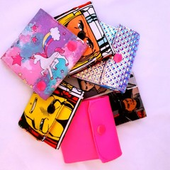 Funky kids wallets