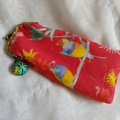 Australian Finch Glasses Case