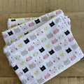 Kitty Themed Zipper Pouch