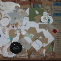 Over 100 Assorted Scrapbooking Pieces for Christmas & Birthday Projects