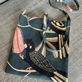 Australian Black Cockatoo: Cross-Body Bag, Hipster Bag