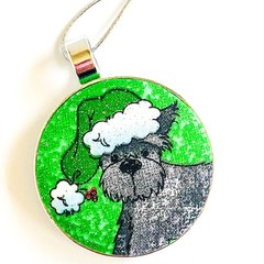 Dog Christmas Ornament - George