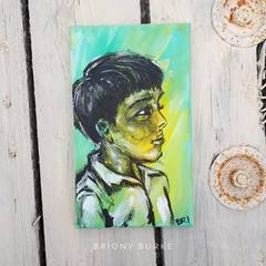"""Sonny"" original painting on canvas"