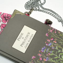 Pride and Prejudice book bag - Jane Austen - Bag made from a book