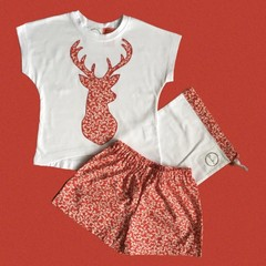 Red Stag Christmas set