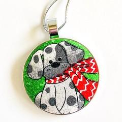 Dog Christmas Ornament - Wally
