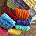 Set of three 'Guest soap and cotton wash cloth set'