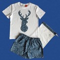 Blue Stag Christmas set