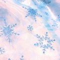 Christmas snow flake sparkle glitter blue dress - size 2