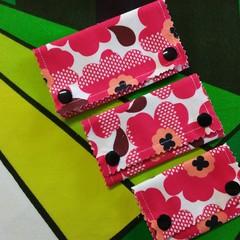 Luggage Bag Travel ID Identifiers -Funky Flowers