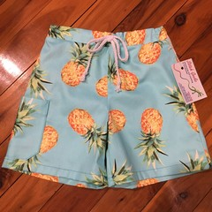 Boys Shorts - Pineapples