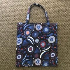 Gorgeous Gum Blossom library/shopping bag