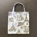Love Paris library/shopping bag