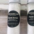 Face Scrub With Adzuki Bean + Australian White Clay. 100% Natural. Face Polish.