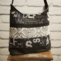 the Hobo Bag - black patch