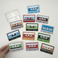 LIFESIZE cassette tape stickers, *write your own labels*, choose your quantity