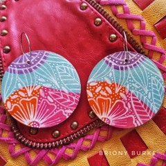 Reversible Extra Large Boho Earring